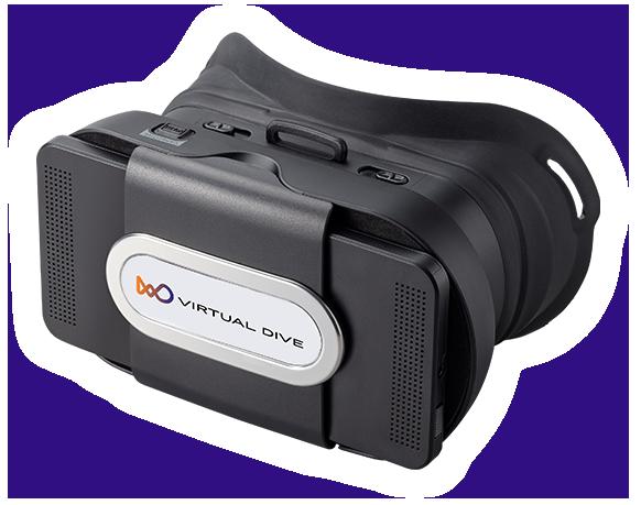 VRヘッドマウントディスプレイ VRM-100